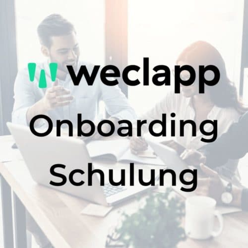 Onboarding Schulung