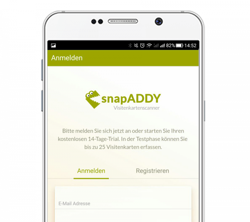 Snapaddy Weclapp Store