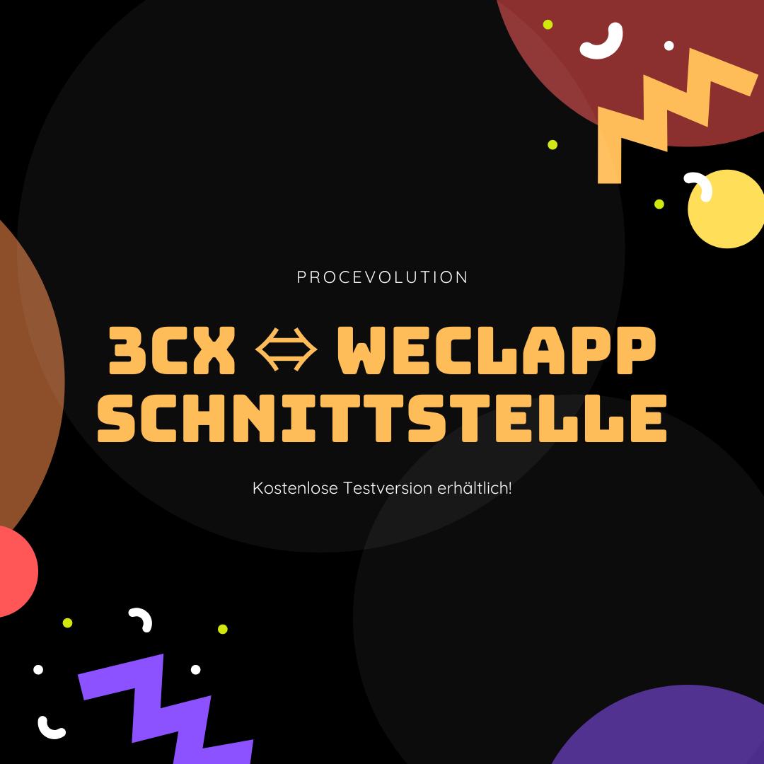 3CX weclapp Schnittstelle