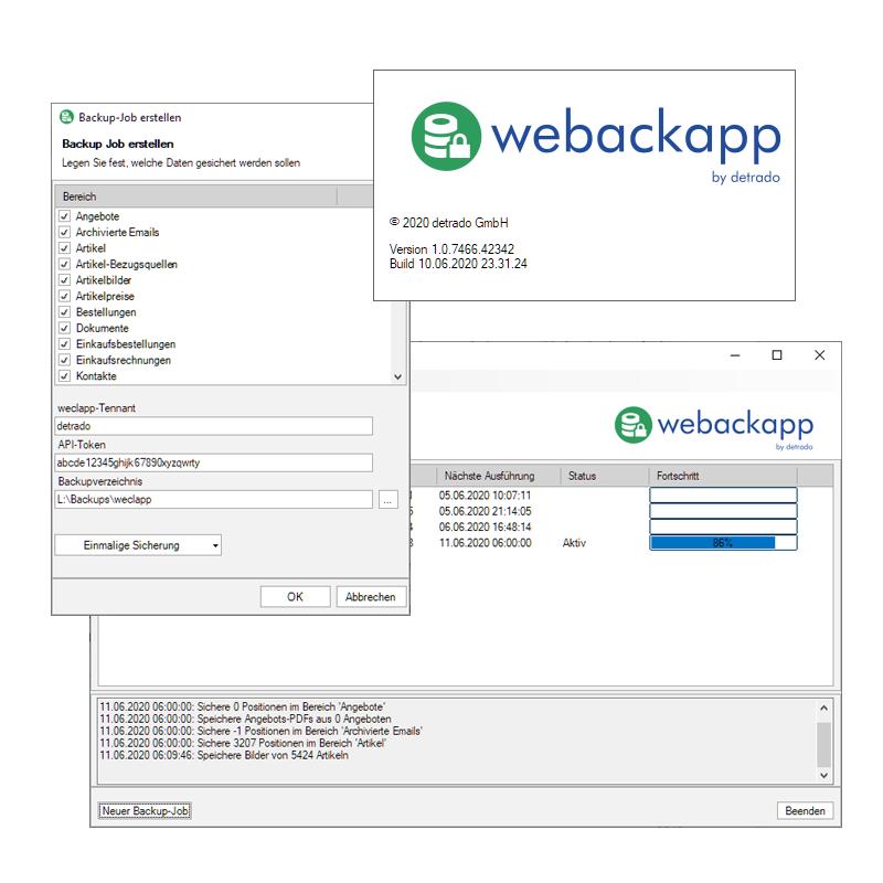 webackapp Screenshot