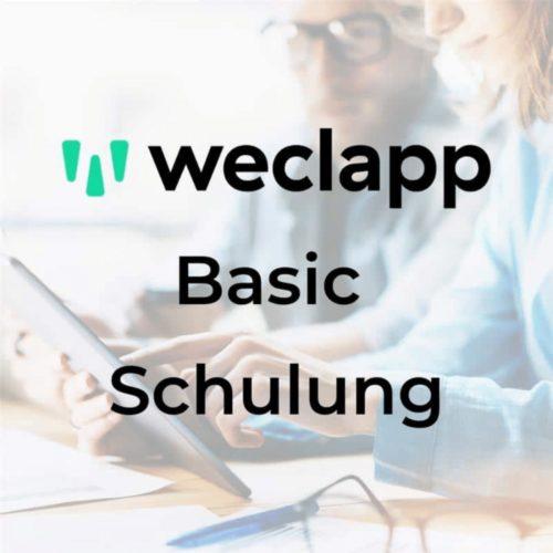 weclapp Basic Schulung