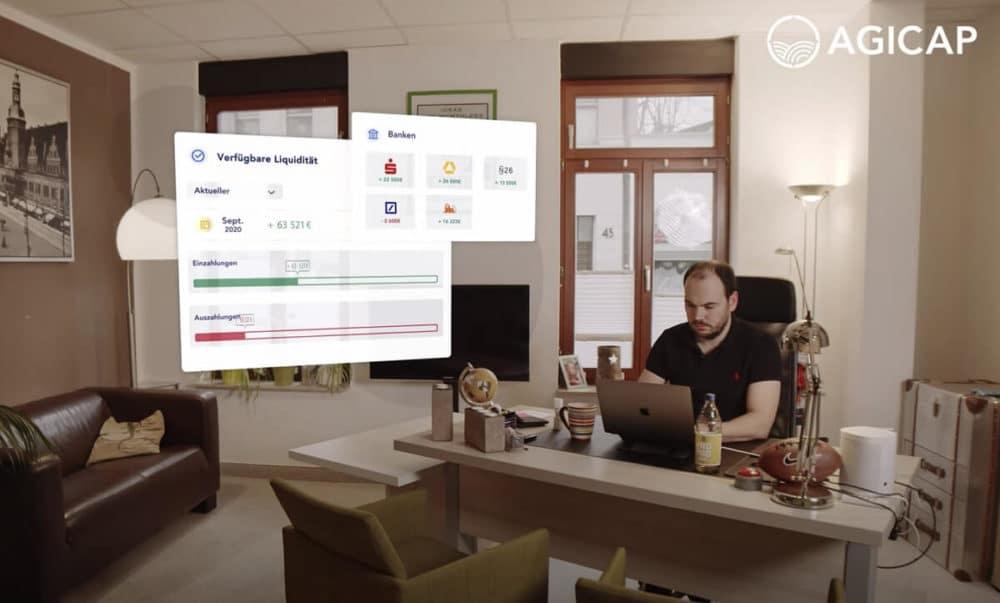 Agicap Produkt Screenshot